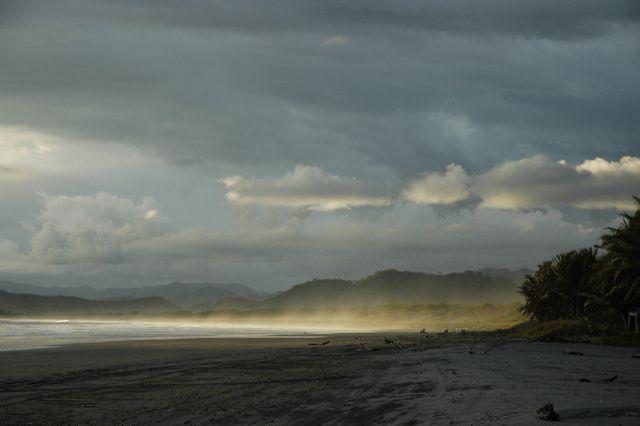Einsamer Strand Nicoya