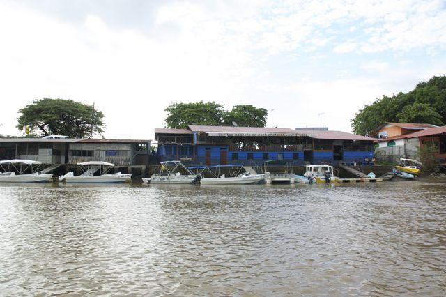Sierpe Hafen