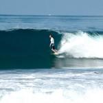 Surfer auf Costa Rica